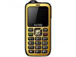 Мобильный телефон Astro B200 RX Dual Sim Black/Yellow