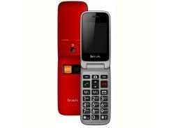 Мобильный телефон Bravis C244 Signal Dual Sim Red