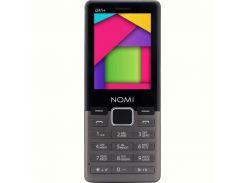 Мобильный телефон Nomi i241+ Dual Sim Metal Dark-Grey