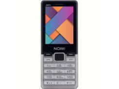 Мобильный телефон Nomi i241+ Dual Sim Metal Steel