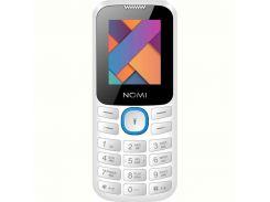 Мобильный телефон Nomi i184 Dual Sim White-Blue