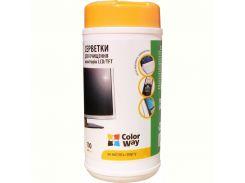 Чист. CW (CW-1071) Салфетки для LCD и TFT 100шт