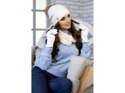 Комплект «Катарина» (шапка, снуд и перчатки)
