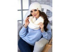 Комплект «Денвер» (шапка и шарф-снуд)