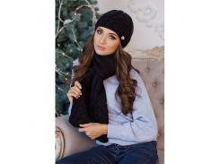 Комплект «Камелия» (шапка и шарф)