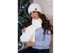 Комплект «Дюран» (шапка и шарф)