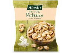 Фисташки Alesto Pistachios соленые, 500 г (Венгрия)