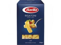 Макароны Barilla Rigatoni №89, 500 г (Италия)