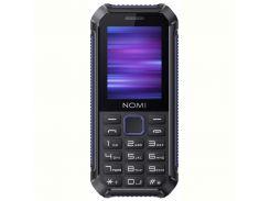 Мобильный телефон Nomi i245 X-Treme Dual Sim Black/Blue