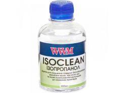 Чистящая жидкость WWM (CL07) изопропанол для очистки фотобарабанов, лезвий  200 мл