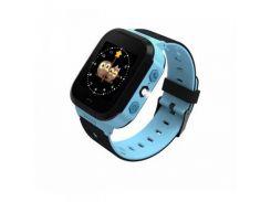 Детские смарт-часы GoGPS ME К12 Синий (К12СН)