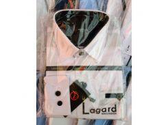 Рубашка детская, подростковая Verton длинный рукав Slimfit приталенная. Белая