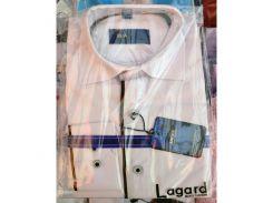 Рубашка детская, подростковая Verton длинный рукав Slimfit приталенная. Белая + полоска тонкая 3