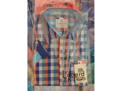 Рубашка детская, подростковая Lagard короткий рукав. Цветная