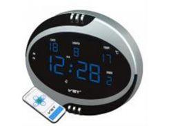 Часы настенные VST 770-Т5 Blue LED+БП+ДУ