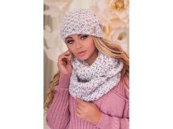 Комплект «Маранда» (шапка и шарф-снуд)