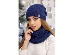 Комплект «Шарлин» (шапка и шарф-хомут)