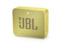 Акустическая система JBL GO 2 Lemonade Yellow (JBLGO2YEL)
