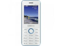 Мобильный телефон Maxcom MM136 Dual Sim White-Blue (5908235973517)