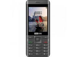 Мобильный телефон Maxcom MM236 Dual Sim Black-Silver (5908235974071)