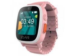 Детский телефон-часы с GPS/LBS/WIFI трекером Elari FixiTime 3 Pink (ELFIT3PNK)