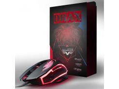 Игровая мышь Frime Drax Black, USB (FMC1850)