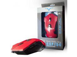 Мышь Frime Raptor Red, USB (FMC1820)