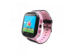 Детские смарт-часы GoGPS ME К12 Розовый (К12РЗ)