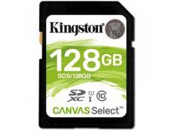 Карта памяти SDXC 128GB UHS-I Class 10 Kingston Canvas Select (SDS/128GB)
