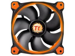 Вентилятор Thermaltake Riing 12 LED Orange (CL-F038-PL12OR-A), 120х120х25 мм, 3pin, черный
