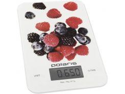 Весы кухонные Polaris PKS 0740DG White/Pattern