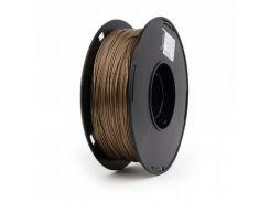 Филамент пластик Gembird (3DP-PLA1.75-02-CO) для 3D-принтера, PLA, 1.75 мм, медный, 1кг