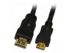 Кабель Viewcon VD091 HDMI-miniHDMI, 1.8м, блистер
