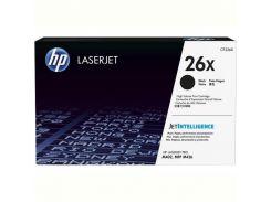 Картридж HP 26X LJ Pro M402D/M402DN/M402N/M426DW/M426FDN/M426FDW Black (max) (CF226X)