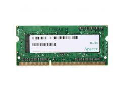 ОЗУ APACER для ноутбука DDR3 2Gb 1600Mhz БЛИСТЕР DS.02G2K.HAM