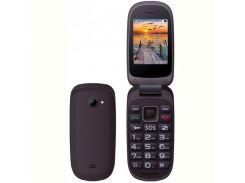 Мобильный телефон Maxcom Comдляt MM818 Dual Sim Black (5908235973845)