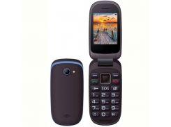 Мобильный телефон Maxcom Comдляt MM818 Dual Sim Black-Blue (5908235973869)