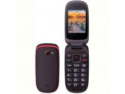 Мобильный телефон Maxcom Comдляt MM818 Dual Sim Black-Red (5908235973852)