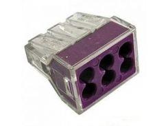 Коннектор Smartдляtec CMK-106 6-контактный (5 шт/уп)