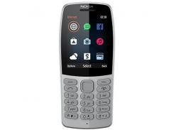 Мобильный телефон NOKIA 210 Dual SIM (grey) TA-1139