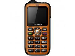 Мобильный телефон Astro B200 RX Dual Sim Black/Orange