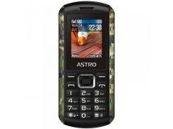 Мобильный телефон Astro A180 RX Dual Sim Black/Camo
