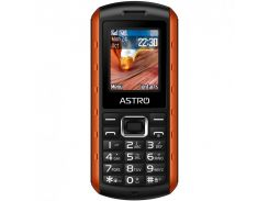 Мобильный телефон Astro A180 RX Dual Sim Black/Orange