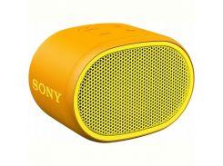 Акустическая система Sony SRS-XB01 Yellow (SRSXB01Y.RU2)