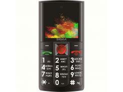 Мобильный телефон Sigma mobile Comfort 50 Solo Dual Sim Black