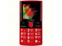 Мобильный телефон Sigma mobile Comfort 50 Solo Dual Sim Red
