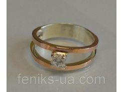 Кольцо серебряное (004к)