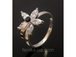 Кольцо серебряное  (034к)