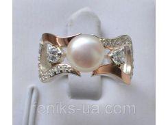 Кольцо серебряное  (036к)