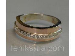 Кольцо серебряное  (040к)